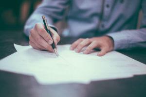 Podpisanie umowy poręczenia