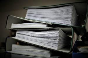 Akta sądowe w postępowaniu nakazowym